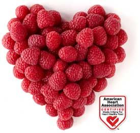 Driscoll's Raspberries are Certified by the American Heart Association