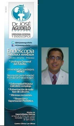 DR. JOSE AGUDELO, MARACAIBO, dr jose agudelo, urologo... UROLOGO - ENDOUROLOGO - PULVERIZACION DE CÁLCULOS - VAPORIZACIÓN PROSTATICA- CIRUGÍA DE MÍNIMA INVASIÓN  AV.17 C/CALLE69 COMPLEJO MEDICO SAN LUCAS Y CENTRO CLÍNICO LOS OLIVOS , SECTOR PARAISO MARACAIBO (4001) - Zulia Venezuela   58261-7529424 0424-6957459  0261-8152774     Realizar una consulta  www.drjoseagudelo.com