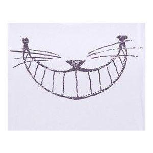 Ladies Cheshire Cat Smile Alice In Wonderland T-Shirt From J ...