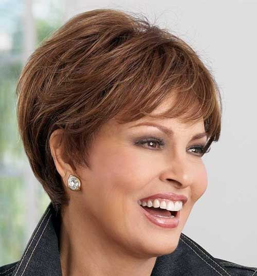 15 Short Hair Women Over 50 Hairstyles To Try In 2018 Pinterest