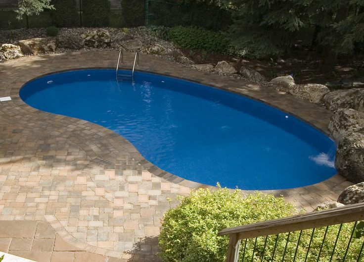 17 Best Ideas About Semi Inground Pools On Pinterest Small Inground Pool Semi Inground Pool