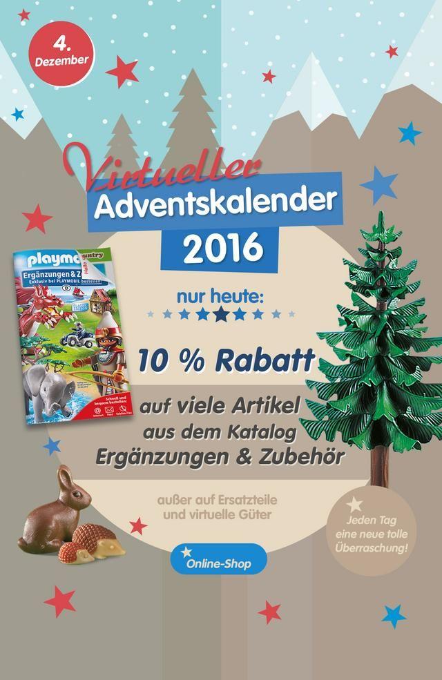 10% Rabatt auf sehr viele Artikel aus dem Playmobil Katalog für Erweiterungen und Zubehör.
