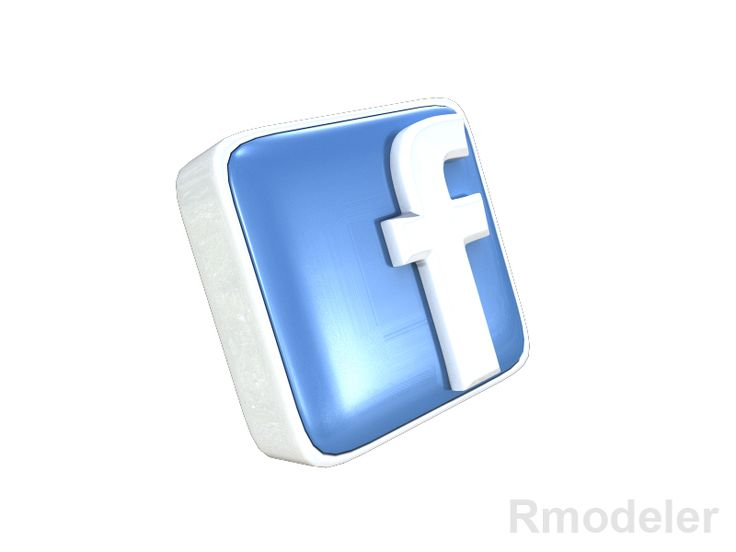 FaceBook letter 3d Logo 3D Model- Facebook is a social networking service and website launched in February 2004, operated and privately owned by Facebook, Inc. As of January 2011, Facebook has more than 600 million active users. Users may create a personal profile, add other users as friends, and exchange messages, including automatic notifications when they update their profile. Additionally, users may join common-interest user groups, organized by workplace, school or college, or other…