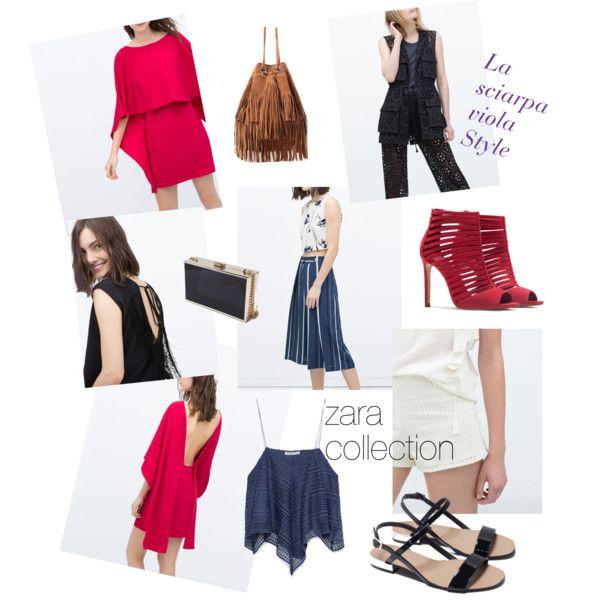 I saldi si avvicinano..ecco qualche suggerimento firmato Zara! by lasciarpaviola on Polyvore featuring polyvore fashion style Zara