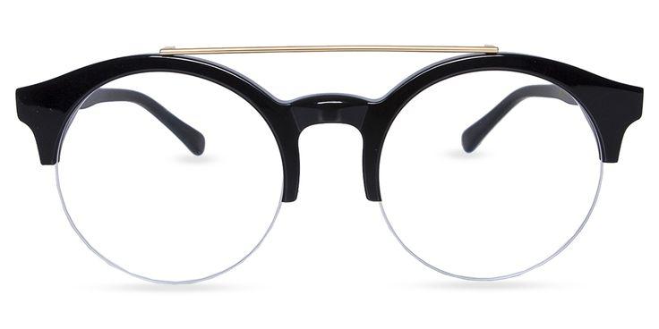 unisex semi rimless acetate eyeglasses - Most Popular Eyeglass Frames
