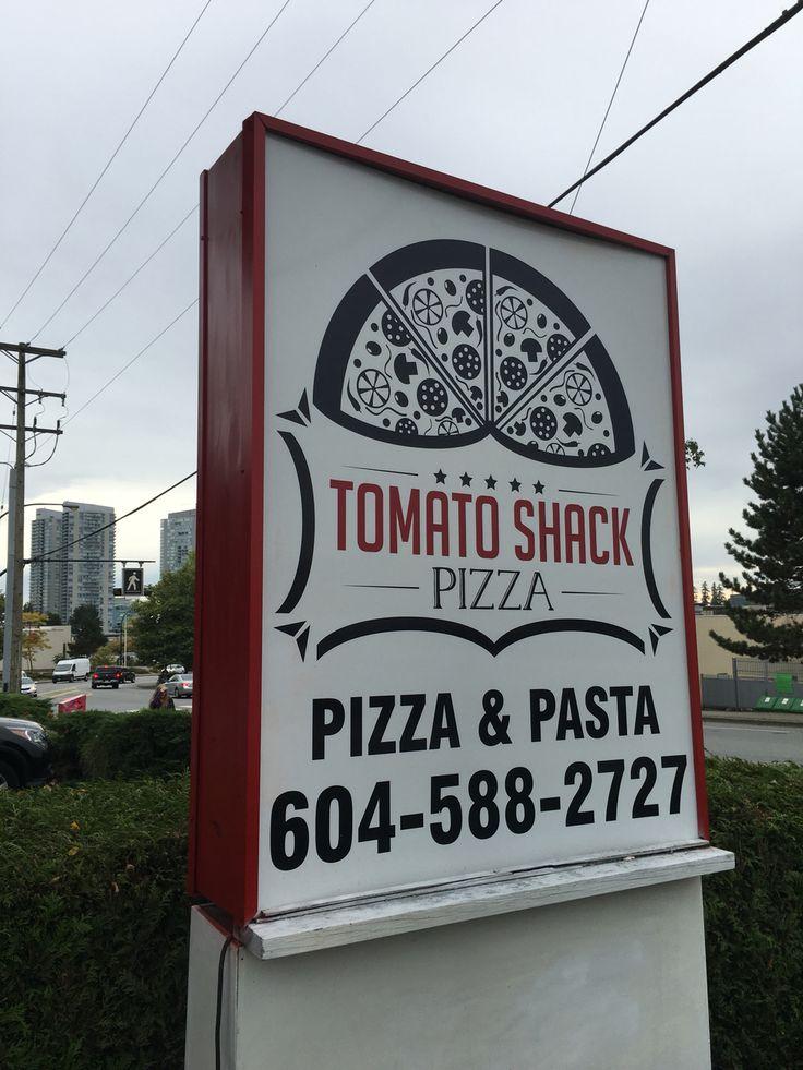 Tomato shack pizza