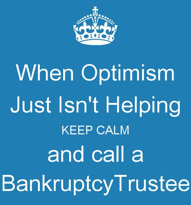 #keepcalm #bankruptcytrustee