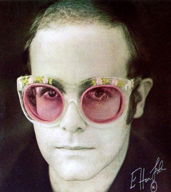 Elton john 70s glasses