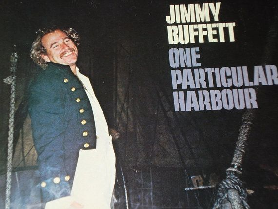 Jimmy Buffett record album One Particular by VinylCatRecordsUS