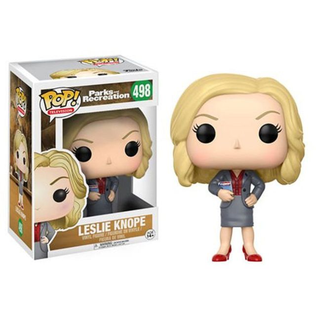 Funko POP! Television: Parks and Recreation 3.75 inch Vinyl Figure - Leslie Knope