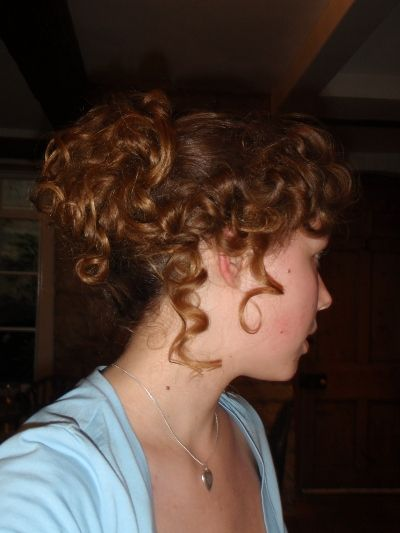How vintage do you like your hairstyles? How about the Regency?