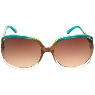 "Envy ""Coco"" - Gafas de sol, de mujer, modernas, turquesa/marrón | Overstock.com Shopping - The Best Deals on Fashion Sunglasses"