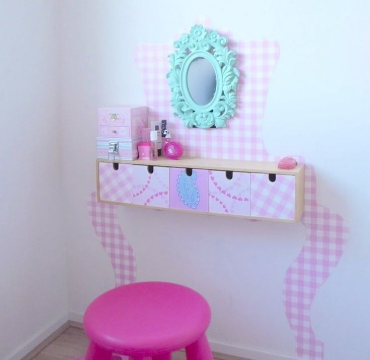 ikea moppe hacked into a vanity kids stuff pinterest vanities design and plays. Black Bedroom Furniture Sets. Home Design Ideas