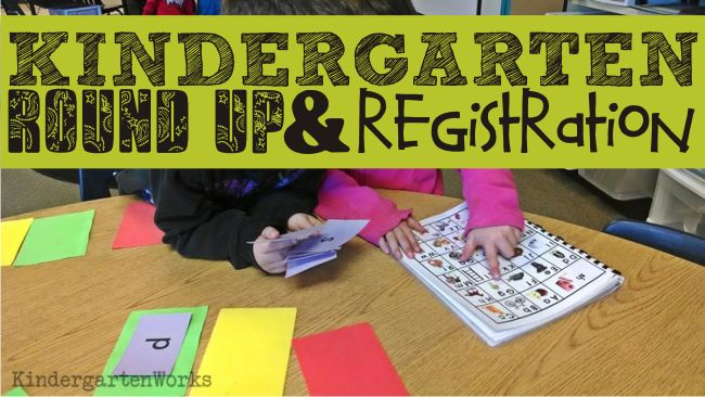 """round 'em up! {Kindergarten Parent Brochure Printable} Give parents the tools to learn how """"school"""" works."""