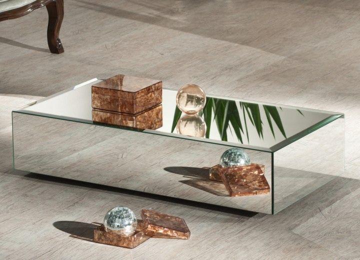 17 melhores ideias sobre mesas de centro espelhadas no - Modelos de mesa de centro ...