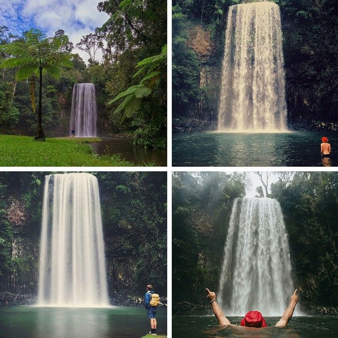 Top 10 waterfalls in QLD