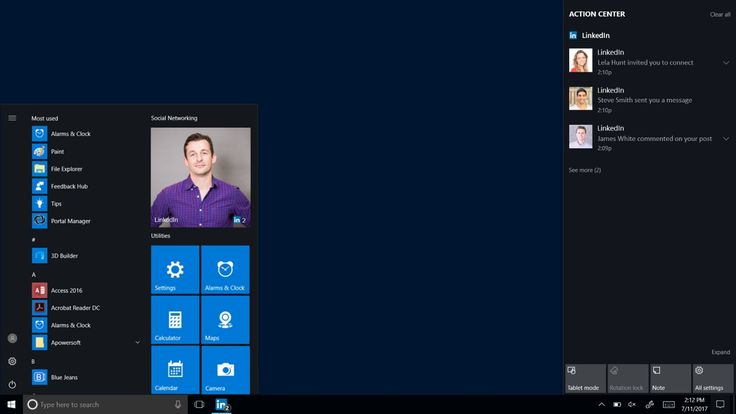 Microsoft Releases LinkedIn App for Windows 10 to the Windows Store: The LinkedIn app comes to provide a fully Windows 10 integrated…