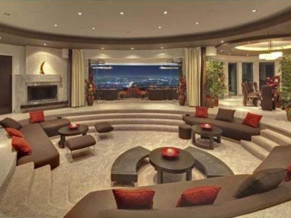 207 best sunken living room images on pinterest living for Sunken living room ideas