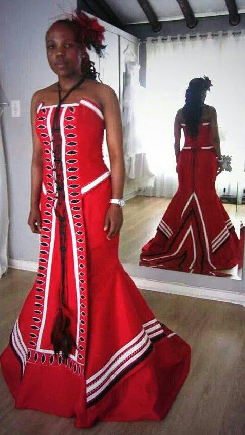 Our Stunning Traditional African Dresses Zulu Culture Styles Pinterest Traditional To