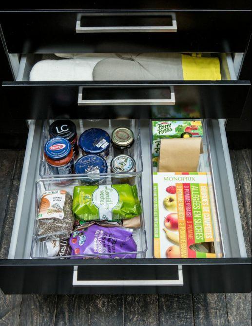 tiroirs placard cuisine ranger rangement cuisine. Black Bedroom Furniture Sets. Home Design Ideas