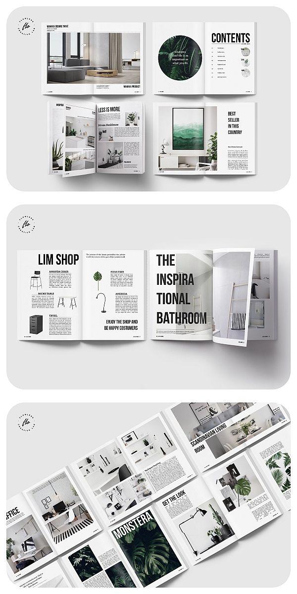 Lim Home Design Interior Magazine Template Magazine