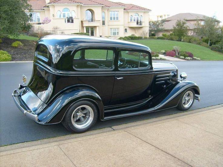 1934 chevrolet 2 door sedan chop top for sale in prior