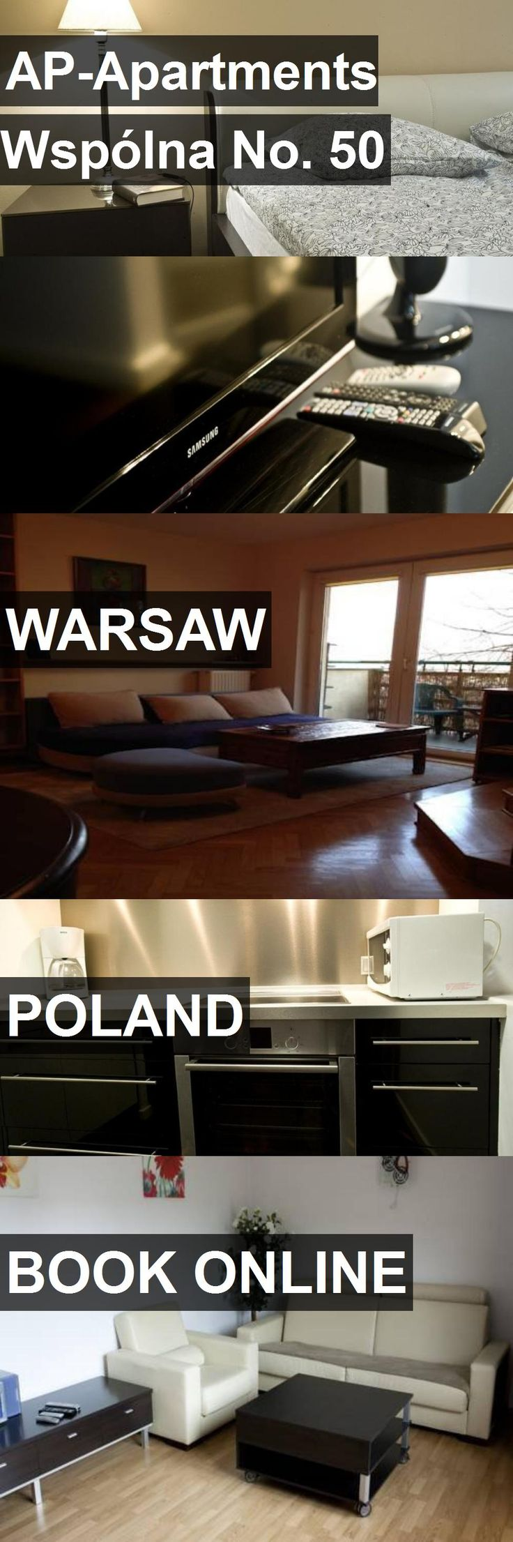 Hotel AP-Apartments Wspólna No. 50 in Warsaw, Poland. For more information, photos, reviews and best prices please follow the link. #Poland #Warsaw #AP-ApartmentsWspólnaNo.50 #hotel #travel #vacation