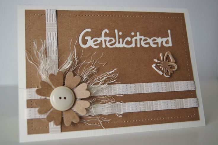 Handmade by JoHo - kaarten maken - Cardmaking