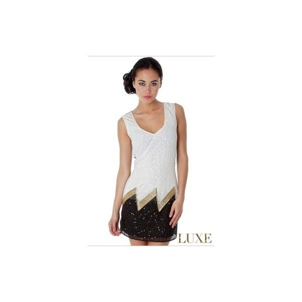 Flapper dress via Polyvore