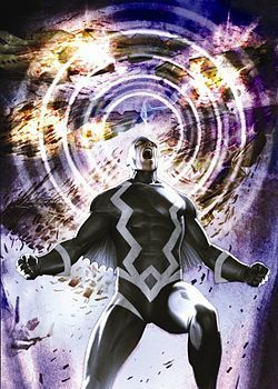 Black Bolt uses his hypersonic scream