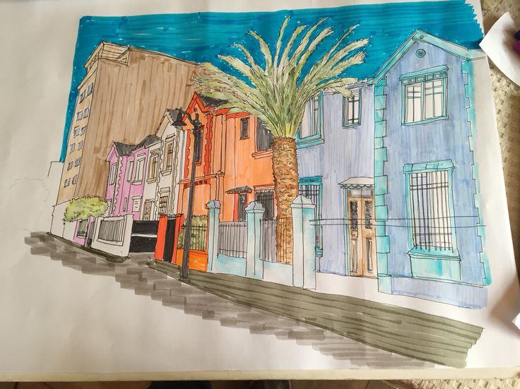 Color observación y dibujo