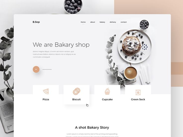 Bakary Shop by Jabel Ahmed - Dribbble