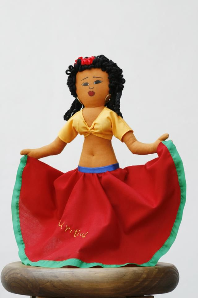 Love of Dolls and their Goodwill Message is Hereditary: Doll from Mauritius