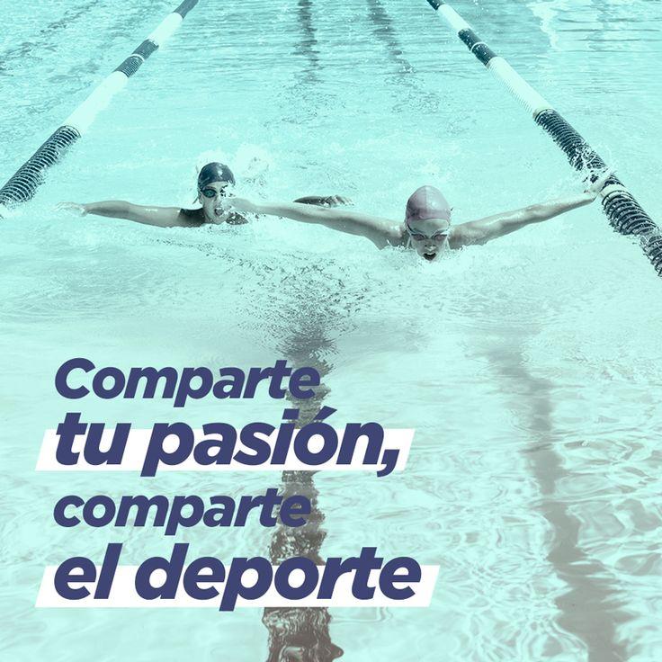 Pocas cosas son más satisfactorias que compartir la pasión por el #deporte. #decthlon #natación