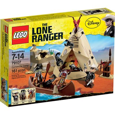 Lego Lone Ranger Indian Village