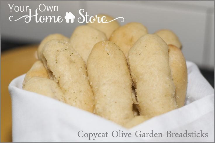 Copycat Olive Garden Breadsticks from 100% food storage from Your Own Home Store.  http://www.yourownhomestore.com/olive-garden-breadsticks/