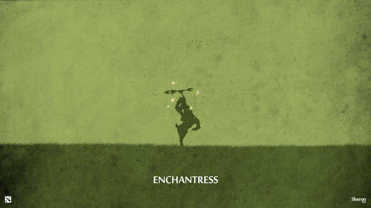 Dota 2 - Enchantress Wallpaper by sheron1030.deviantart.com on @deviantART