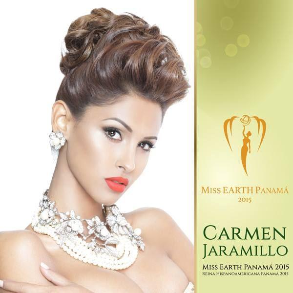 Carmen Isabelle Jaramillo - Miss Earth Panama 2015