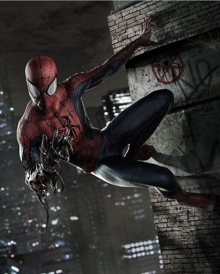 Spiderman con un poco de venom                                                                                                                                                                                 Más