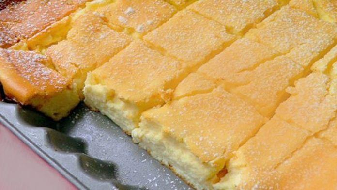 Nejjemnější tvarohový koláč připravený už za 5 minut! Stačí jen smíchat všechny ingredience! | Vychytávkov