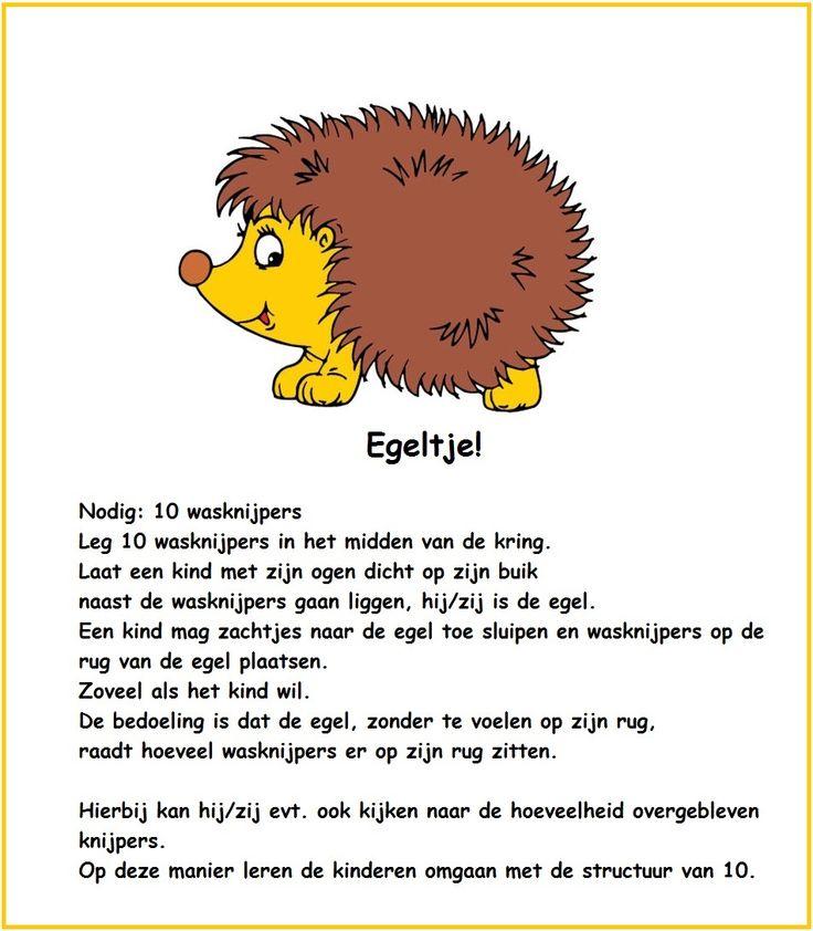 Beweging: Egel-spel!