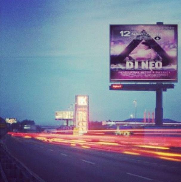 Dj Neo aka DENNIS NEO live at Prague! Street billboard #dennisneo #djneo #live #housemusic #party #prague #praha #supremeswing