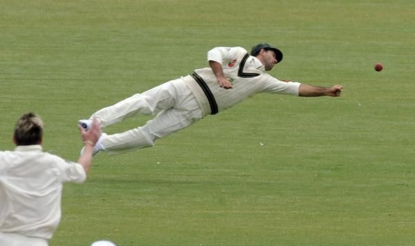 Ricky Ponting - One of the best fielders of modern Cricket