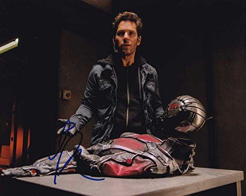 Paul Rudd in-person autographed photo as Ant-Man @ niftywarehouse.com #NiftyWarehouse #Antman #Ant-man #Movie #Marvel #Comics #ComicBooks #Avengers #TheAvengers