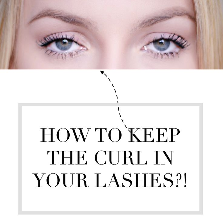 HOW TO KEEP STRAIGHT LASHES CURLED ALL DAY LONG
