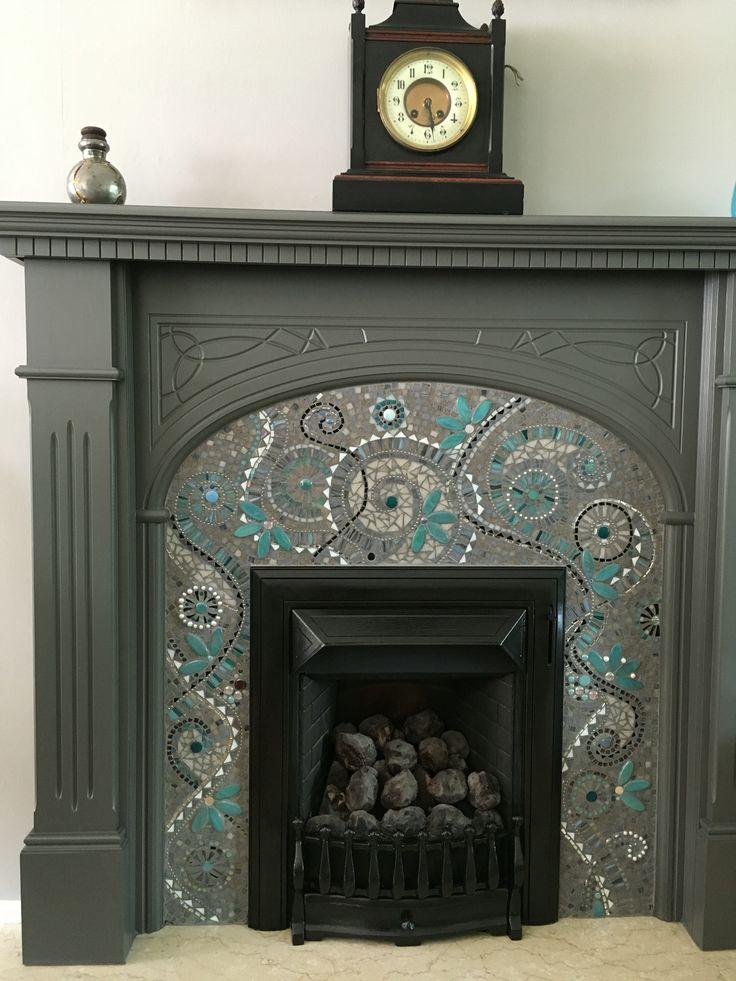 Best 25+ Mosaic fireplace ideas on Pinterest   Vintage ...