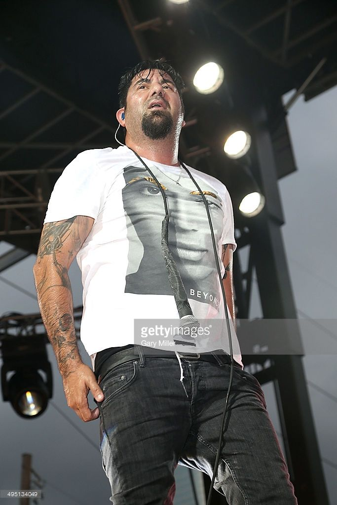 Chino Moreno performs in concert with Deftones during Day 1 of the Free Press Summer Fest at Eleanor Tinsley Park on May 31, 2014 in Houston, Texas.