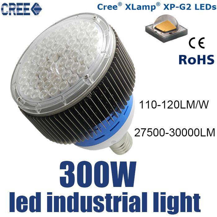 3 шт. led industrial light 300 Вт, 220 В светодиодные промышленное освещение, e40 вело высокий свет залива 300 Вт, factoey освещения высокой мощности AC85-265V