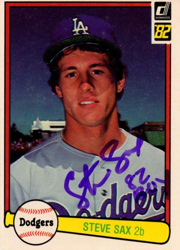 Steve Sax, Dodgers