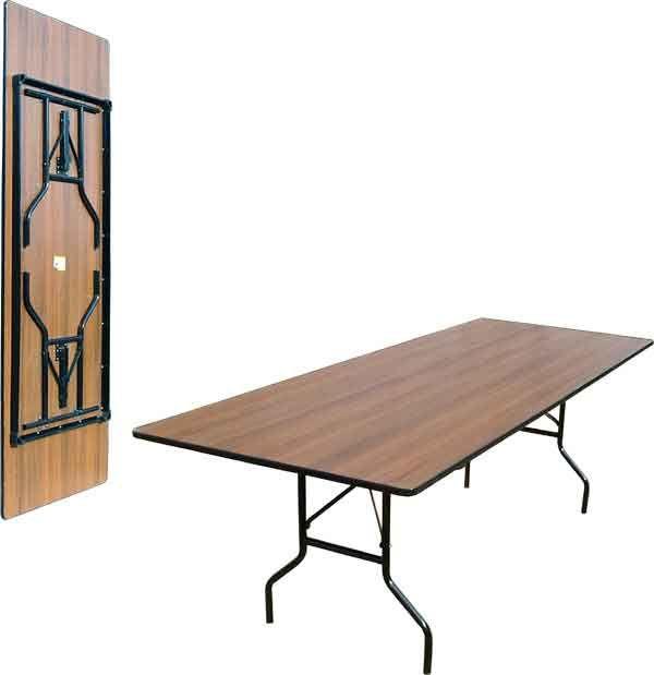 Складной стол прямоугольный 240-80